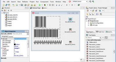 1D Barcode VCL Components screenshot