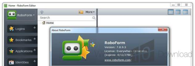 AI RoboForm screenshot