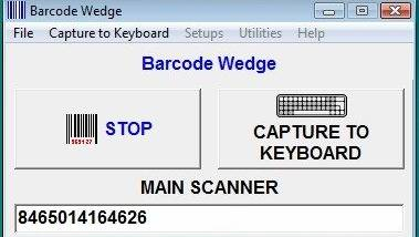 Barcode Wedge Software - Windows 10 Download