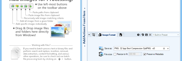 Batch Image Converter Lite screenshot