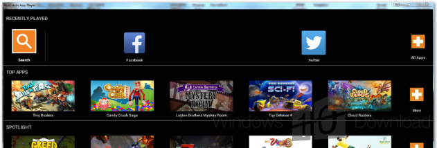 BlueStacks App Player screenshot