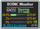 BOINC Monitor screenshot