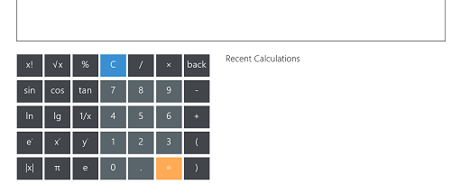 Calculator XL screenshot