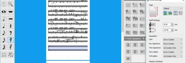 Crescendo Music Notation Masters Edition screenshot