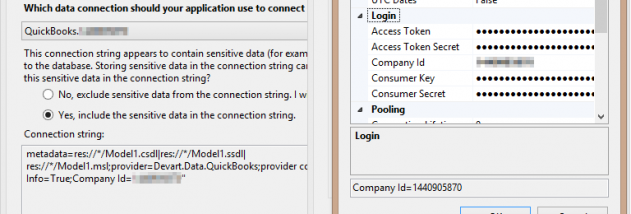 dotConnect for QuickBooks screenshot