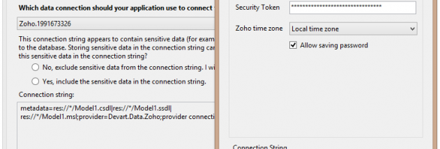 dotConnect for Zoho CRM screenshot