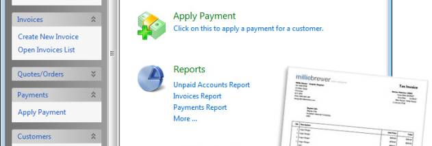 Express Invoice Invoicing Software Free screenshot