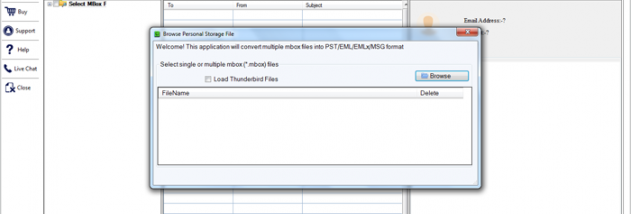 GainTools MBOX to EML Converter screenshot
