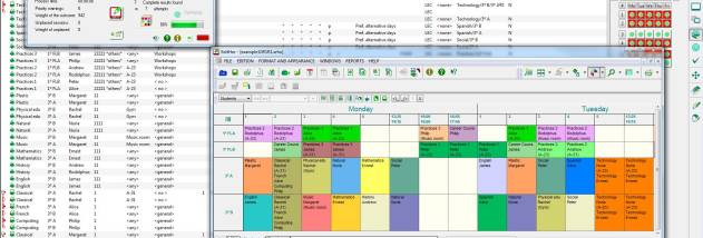 GHC Timetables EN screenshot