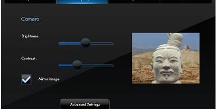 HP MediaSmart Webcam Software screenshot
