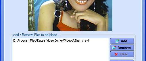 Kate`s Video Joiner screenshot