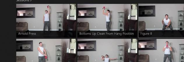 Kettlebell Course screenshot