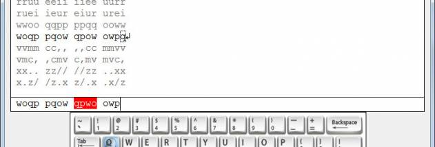 Unicode Punjabi Typing Test