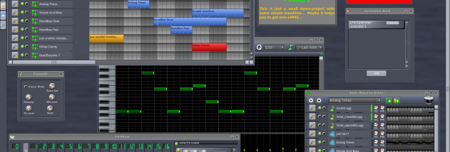 LMMS (Linux MultiMedia Studio) screenshot