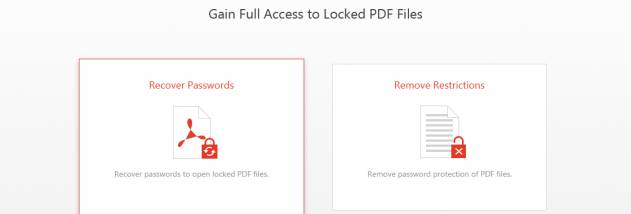 Passper for PDF screenshot