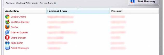 Password Decryptor for Facebook - Windows 10 Download