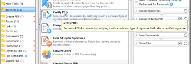 PDF-Tools screenshot