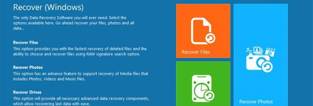 Remo File Recovery Software screenshot