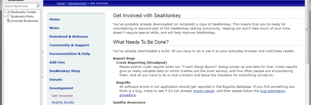 SeaMonkey - Windows 10 Download