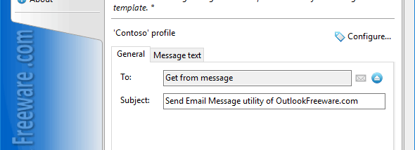 Send Email Message for Outlook screenshot