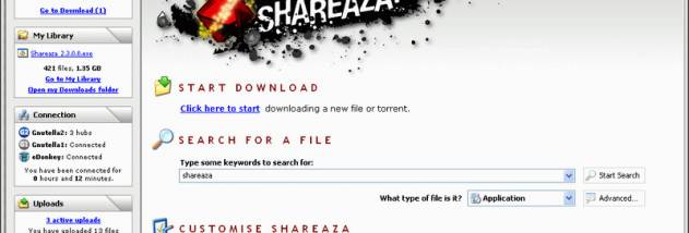 shareaza windows 10 download
