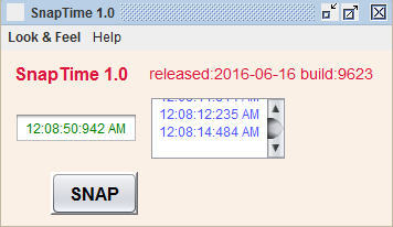 SnapTime - Windows 10 Download