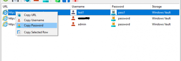 SterJo Internet Explorer Passwords - Windows 10 Download