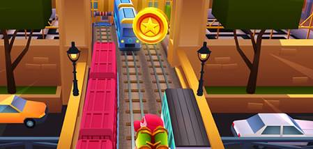 Subway Surfers for PC Download screenshot