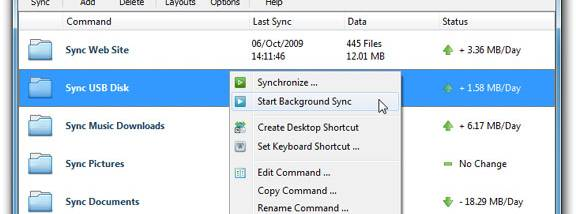 Sync Breeze screenshot