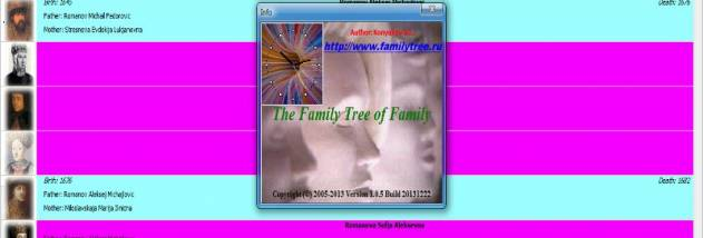 The Family Tree of Family screenshot