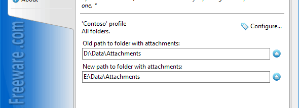 Update Linked Attachments for Outlook screenshot