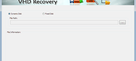 Virtual Hard Disk Recovery screenshot