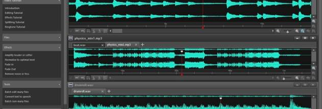 Wavepad Free Audio and Music Editor screenshot
