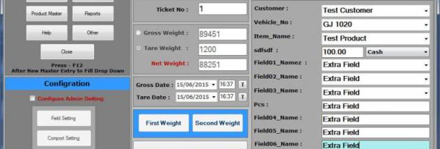 Weighbridge Software Free screenshot
