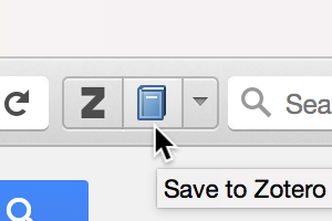 Zotero screenshot