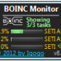 Windows 10 - BOINC Monitor 9.65 screenshot