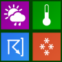 Windows 10 - Icons-Land Metro Weather Icon Set 1.0 screenshot