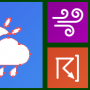 Windows 10 - Icons-Land Metro Weather Vector Icons 1.0 screenshot