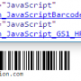 Windows 10 - Linear JavaScript Barcode Generator 17.01 screenshot