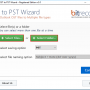 Windows 10 - OST to PST Wizard 1.0 screenshot