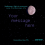 Windows 10 - StarMessage Moon Phase Screensaver 5.4.3 screenshot