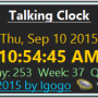 Windows 10 - Talking Clock 2.7 screenshot